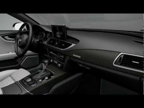 audi s7 sportback inlays aluminum wood beaufort youtube