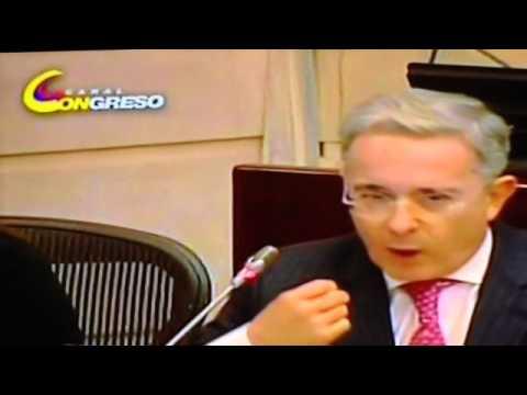 Alvaro Uribe Vélez. Intervención Senado 29 de Julio /2014