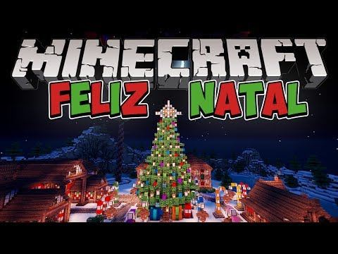 Minecraft Mapa de Natal: Polo Norte!