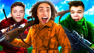 SNIPER ELITE 4 WITH FRIENDS! (Funny Moments)