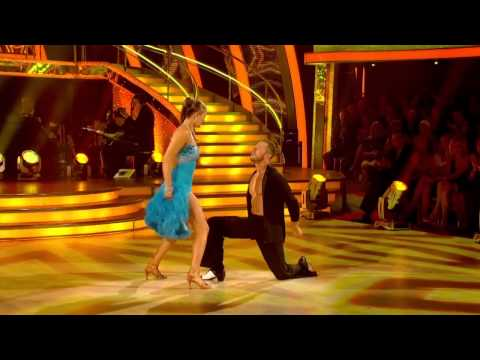 Holly Valance & Artem Chigvintsev - Salsa  - Strictly Come Dancing 2011 - Week 2