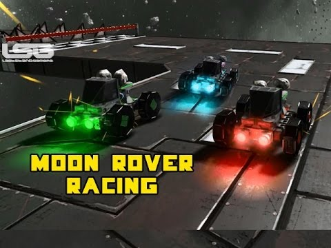 What would racing be like on the moon