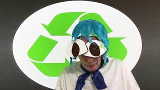 @#$%Earth@#$%Chan@#$% will cry if you do not recycle;   anime; manga; parody; comedy