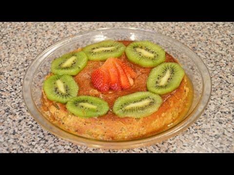 Flan napolitano de fresa y kiwi FACIL | Recetas de cocina fáciles