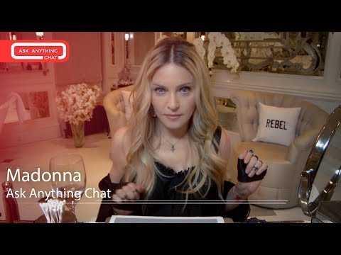 Madonna Interactive Chat w/ Romeo Saturday Night Online  - AskAnythingChat
