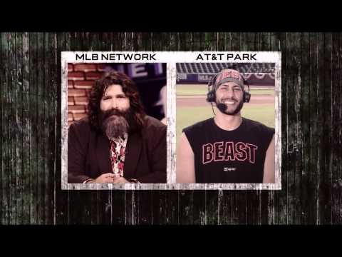 WWE Hall of Famer Mick Foley on MLB Now