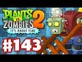 Plants vs. Zombies 2: It's About Time - Gameplay Walkthrough Part 143 - Gargantuar Prime! (iOS)