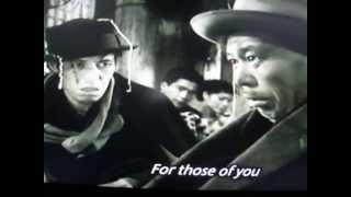 Ikiru 'Gondola no uta' Takashi Shimura, director Kurosawa