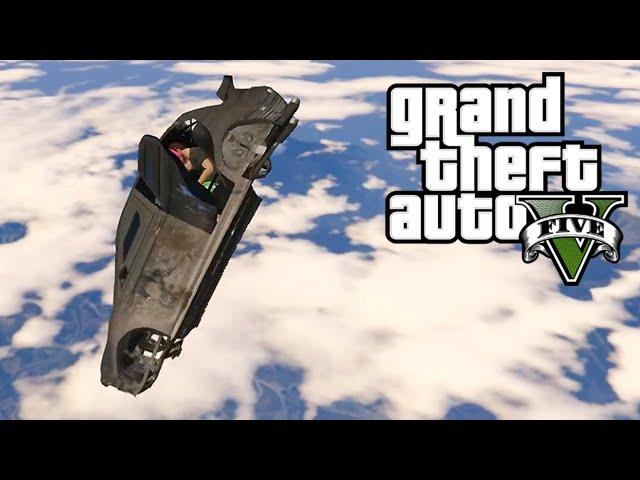 FLYING CAR 2.0 - GTA 54