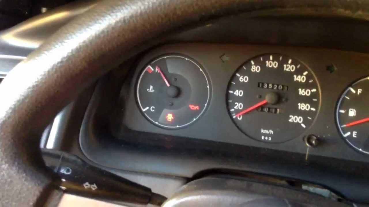 Toyota Corolla - Temperature Gauge Problem - YouTube