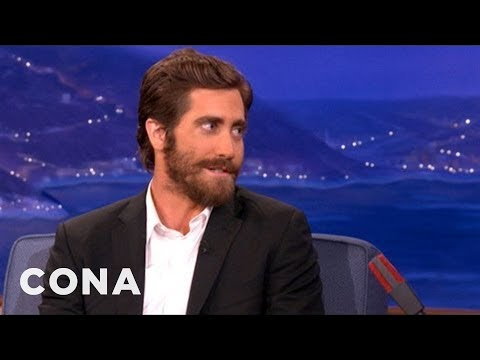 Jake Gyllenhaal Rode With The LAPD For Five Months - CONAN on TBS