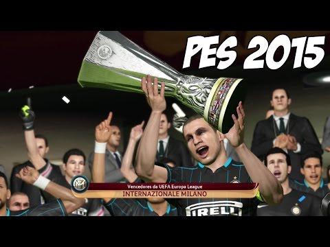 PES 2015: UEFA Europa League Final, nos Pênaltis com Cavadinha - Gameplay em Português PT-BR (PS4)