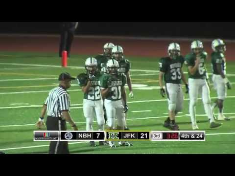 High School Football JFK vs New Brunswick 9/12/2014