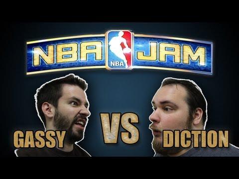 NBA Jam: Gassy VS. Diction!