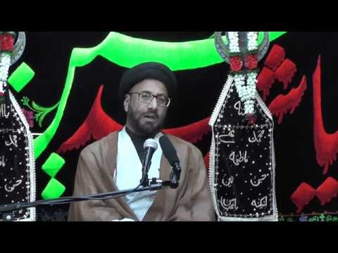 Majlis-Night Of 7th Muharram 1438 By Maulana Syed Moosa Raza Naqvi In Darbar-e-Masoomeen.