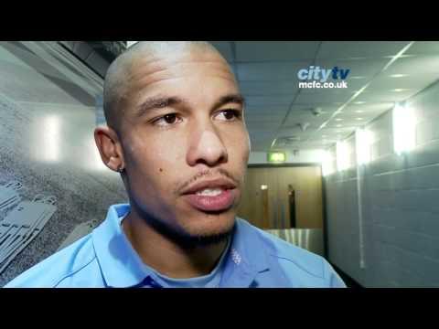 Manchester City 4-1 Aston Villa: Nigel De Jong's post-match interview