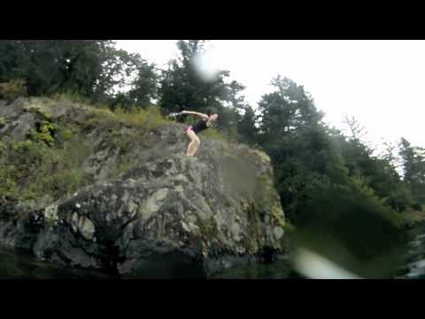 Cliff Diving Compilation - Cultus Lake