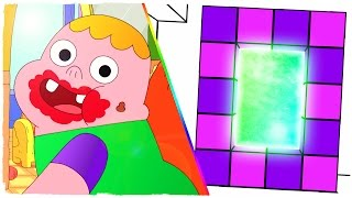 HOW TO MAKE A PORTAL TO THE DIMENSION OF CLARENCE - MINECRAFT