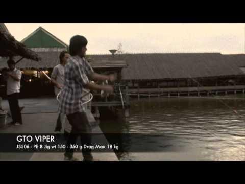 7SeasProShop GTO VIPER Jigging Rods TEST Rods