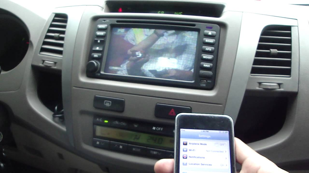 Toyota Fortuner Headunit Youtube