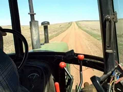 Taking the John Deere 4230 on a road trip