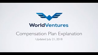 WorldVentures Compensation Plan 2018 with Jefferson Santos