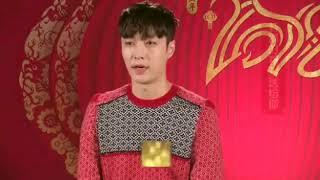 180212 ZHANG YIXING 张艺兴 LAY — Chunwan Weibo: Yixing's msg