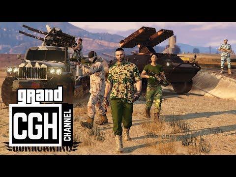 GTA Online Update: Gunrunning DLC