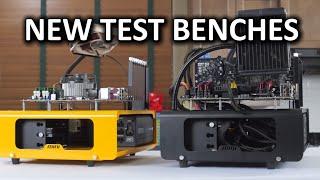 Dimastech Mini V1.0 and Easy V3.0 Test Benches