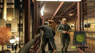 Watch Dogs - Free Roam Gameplay PC ULTRA Settings (Police Chase, Boats, Trains, Hacking, and MORE!!)