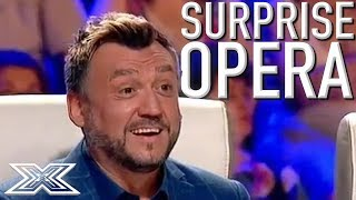 UNEXPECTED And OUTSTANDING Opera Audition Leaves The Judges Mindblown | X Factor Global