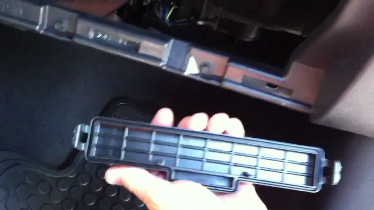 2012 Ram 1500 2500 Cabin Filter Retrofit Youtube