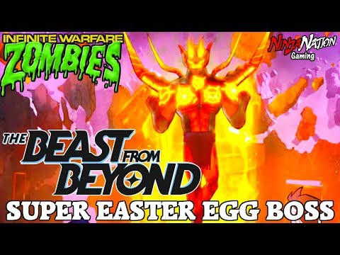 """SUPER EASTER EGG BOSS """"THE BEAST FROM BEYOND"""" 
