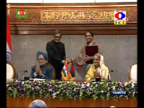 border disputes @Prime Minister Manmohan Singh's visit to Bangladesh (Manmohan Singh & Tarun Gogoi).