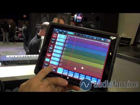 [NAMM] Yamaha Mobile Music Sequencer