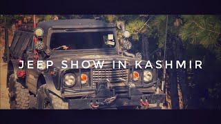 JEEP SHOW IN KASHMIR ft  vlog