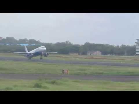 Takeoff of aircraft ( Indigo Airlines )