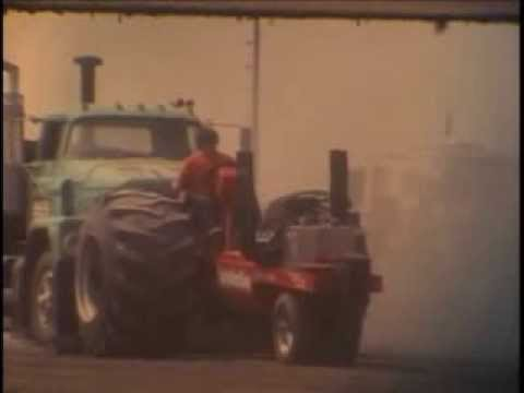 Modified Tractor pulling in the 1970s