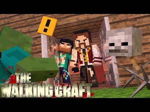 Minecraft 5 A FORTALEZA! THE WALKING CRAFT 3Z TEMP