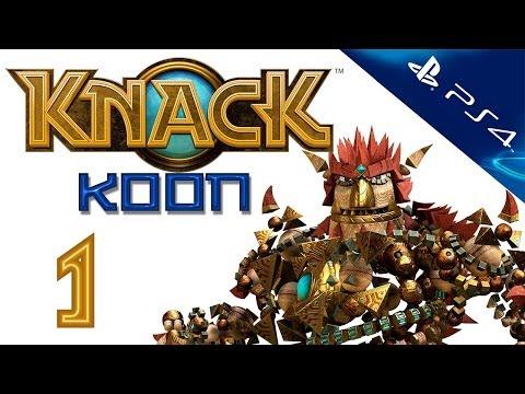 Knack - Прохождение игры на русском - Кооператив [#1] PS4 (Нэк)
