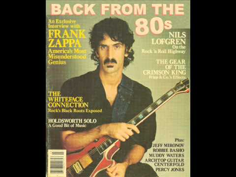 Frank Zappa - Cocaine Decisions (1983)