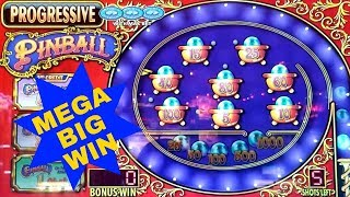 High Limit Pinball Slot Machine MEGA BIG WIN | High Limit Quick Hit | High Limit Rapa Nui Riches
