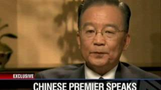 温家宝接受CNN专访4/4 CHINESE PREMIER SPEAKS