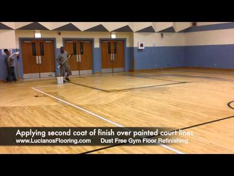 Children of Peace School - Dustless Gym Floor Sanding - 09/16/2014