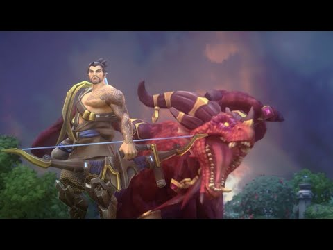 Heroes of the Storm: Alexstrasza &  Hanzo – BlizzCon 2017 Announcement Trailer