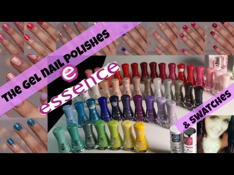 Essence Neuheiten 2015 - the gel nail polishes - SWATCHES & REVIEW - alle 46 Lacke !