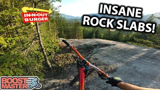 Let's go ride the Longest, Most Epic Rock Slabs Blind!! - IN-N-Out Burger | Jordan Boostmaster