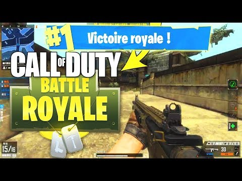 LE MODE BATTLE ROYALE sur CALL OF DUTY ! Gameplay