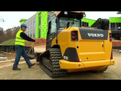 Volvo Skid Steer >> Volvo Wheeled And Tracked C Series Skid Steer Loaders Presentation