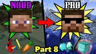 SUPER EASY Ways to Transform from NOOB to PRO in Minecraft - Part 8